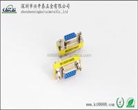 VGA Female-Female mini Gender changer adapter