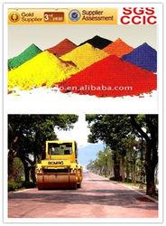 ferric oxide used for produce cold asphalt
