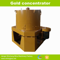 Hot sale alluvial gold concentrator for Mozambique gold mining project