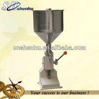 manual cosmetic filling machine.cream filling machine hand operate