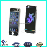 china lastest mobile screen protector film, 9h colored tempered glass screen protector for iphone6