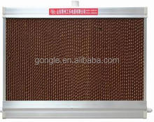 high quality humidified cooling pad for animal livestock facilities