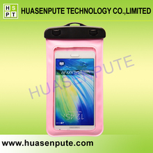 Cell Phone Accessories Arm Belt PVC Mobile Phone Waterproof Bag