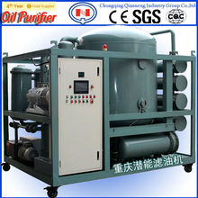 ZYD Two-stage High Efficient Vacuum Oil Filter machine