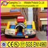 Hot Selling Cartoon Inflatable Car Slide