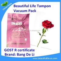medicinal herbal tampons for woman/ organic tampons