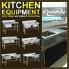 Premium Restaurant Kitchen Sink Bench With Drain Board On The Right (bowl size 500x500x280mm)