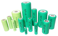 Ni-mh 2/3 aa 600mah 1.2v rechargeable battery