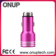ONUP CC01 12v 2a output usb car charger metal car charger Accept more kinds shipments