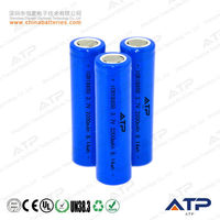 icr18650 3.7v 2200mah li-ion battery rechargeable battery / rechargeable li ion battery 18650 3.7v 2200mah / icr18650 2200mah