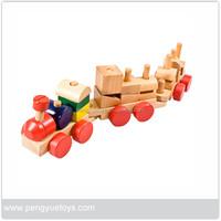 2015 new arrival unique design mini train wooden toy