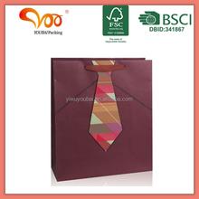 Paper tie 3D print spot-color printing kraft paper bags