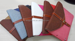 Smart tablet case rotating leather case cover for ipad 5