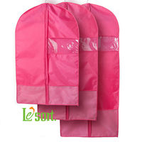 Le'sort wholesale polyester garment bags suit cover -S, M, L