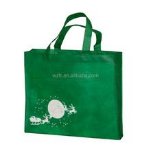 100% recycle cheap custom PP laminated non woven fabrics shoulder bag china alibaba