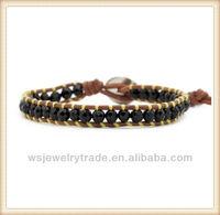 Beautiful Gift! Wrap Leather bracelet,Bracelet Vners Wholesale