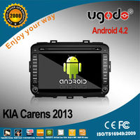 android car multimedia player for Kia Carens 2013 DVD player with GPS radio bluetooth 3G WIFI
