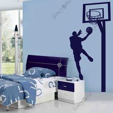 2015 High quality wholesale basketball wall sticker