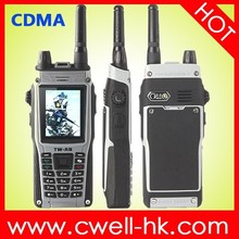 Explorer A9 IP67 Waterproof CDMA450MHz Dual Mode Mobile Phone with VHF Walkie Talkie Function Long Standby Time Battery