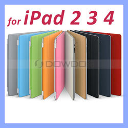 Leather Smart Cover for iPad 4 3 2