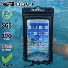 For Iphone 6 Samsung 9500 Mobile Phone PVC Waterproof Bag
