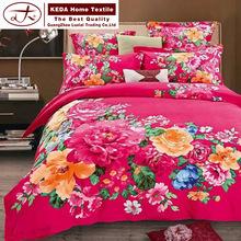 Alibaba supplier bedding sets american style 100% cotton comforter set cotton bedsheet