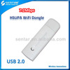 Unlocked mobile WiFi modem USB 2.0 3G HSPA WiFi dongle with SIM card slot for Windows system