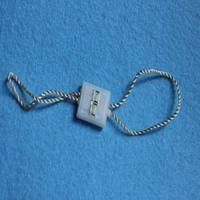 Custom elastic string tags,plastic tags with numbers
