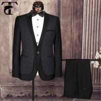 Bespoke tuxedo 2 piece man suit coat pant suits