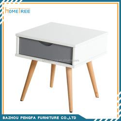 Cheap modern expanding white end table fish tank