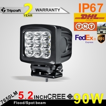 SUPER BRIGHT! 90W LED WORK LIGHT , auto parts car accessory