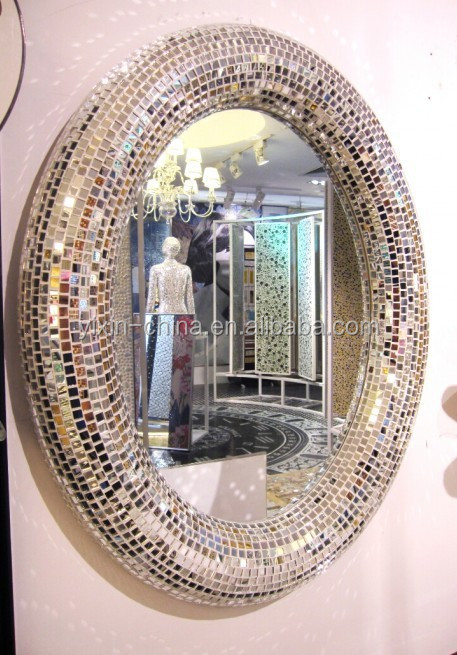 Perfect 30 Ideas Of Mosaic Tile Framed Bathroom Mirrors