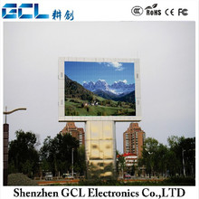 p6 scrolling led display board with RGB full color high brightness