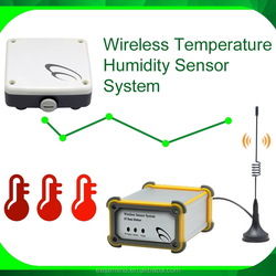 Wireless Temperature Humidity Sensor System water measurement devices GPRS Data Logging
