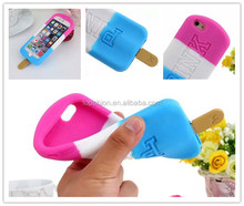 New For Apple iPhone 6 Ice Cream Case Silicone,PINK Soft Silicone Ice Cream Case Cover Case for Apple iPhone 6 4.7