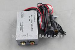 lbt13sk Radio Stereo RCA AUX Input Audio Adapter Wired FM Modulator Antenna Port