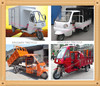 Chongqing 200cc Water-Cooled Cargo Tricycle,Cargo Three Wheel Motorcycle,Three Wheel Motorcycle