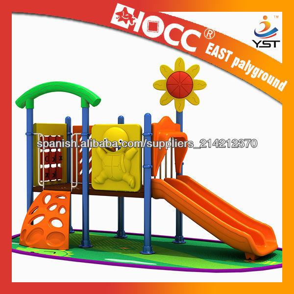 Moda de jard n de pl stico patio de recreo para ni os plastic casa yst 3025a juguetes otros y for Juegos para jardin nios