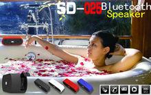 2013 newest Original design IP6X waterproof bluetooth wireless speakers mini 1800mAh li-lion battery