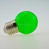 Manufacturer G45 cool white wedding christmas holiday decorative bulb 0.5w 1 watt color 110V 220 Volt led light bulb e27