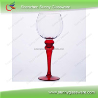 Wedding favors floor standing glass candle holder