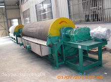 Wet CT Magnetic Drum Separator Equipment , Magnetic Separator in Machinery