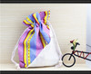 2014 new alibaba recyclable shopping cotton bag drawstring jewelry pouch cotton