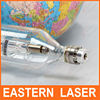 Common long life 80W glass co2 laser tube with glass head