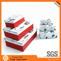 promotion homemade promotion hard paper gift box for car store