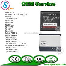Phone battery pack for Alcatel mobile phone OEM