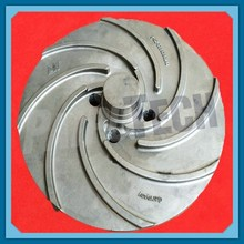 Large Pump Impellers Customized Stainless Steel Machining Parts Cast Iron