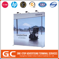 Durable Best Design Tailored Triangle Pop Up Banner
