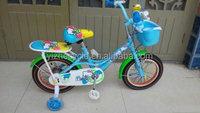 """pretty girls new style bicycle kids bike with basket 14"""" bike"""