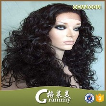 full cuticle hot sale cheap human hair grey lace front wig